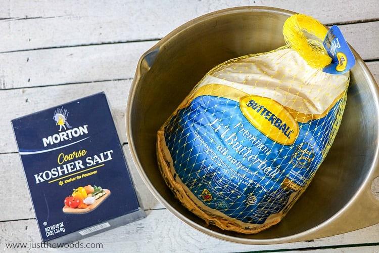 butterball turkey roast, brined turkey, turkey brine