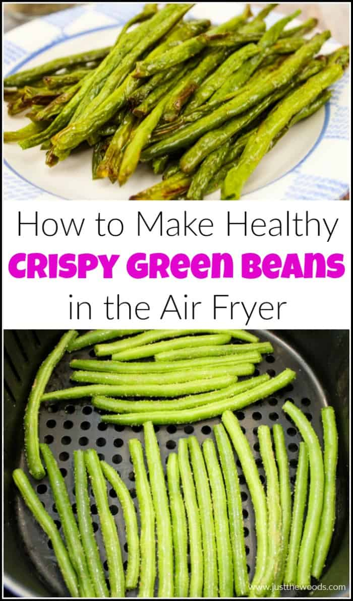 How to Make Healthy Crispy Green Beans in the Air Fryer