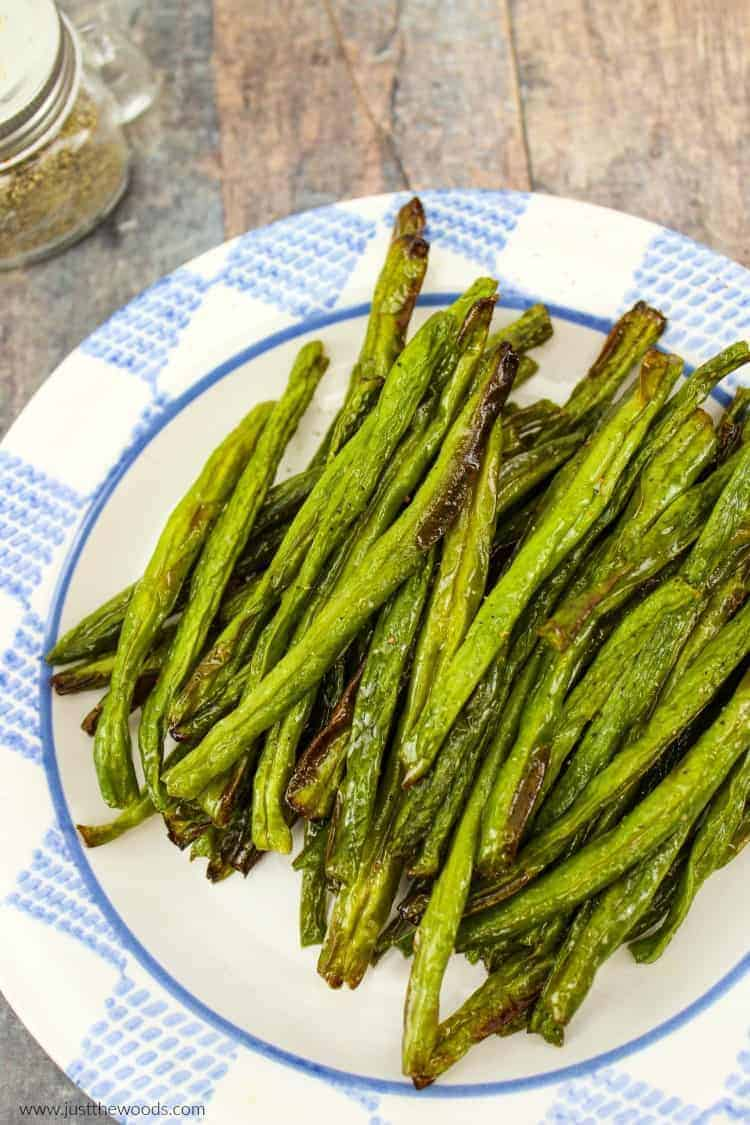 air fryer vegetables, healthy green bean recipe