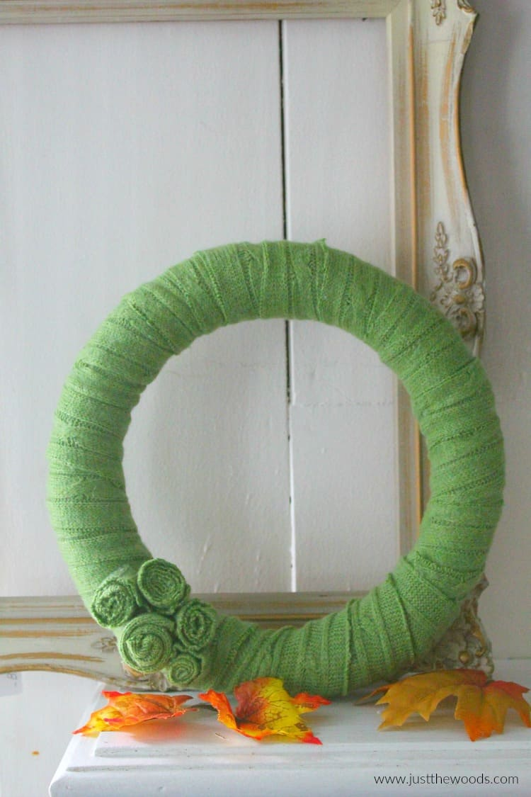 how to make a diy wreath, diy fall wreath, autumn wreath