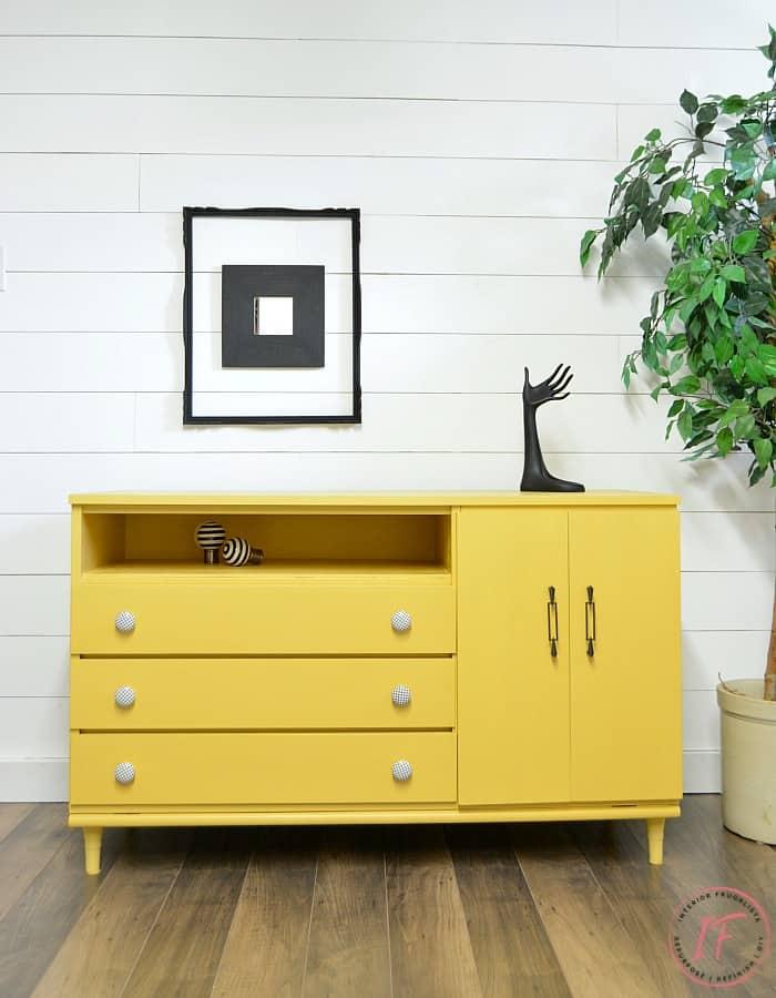 Mid Century Modern Furniture Makeover