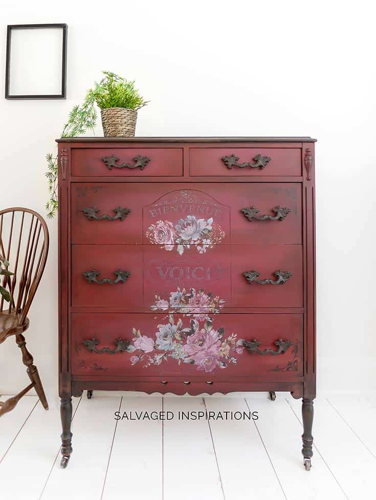 How to Paint a Dresser with Chalk Paint & Glaze