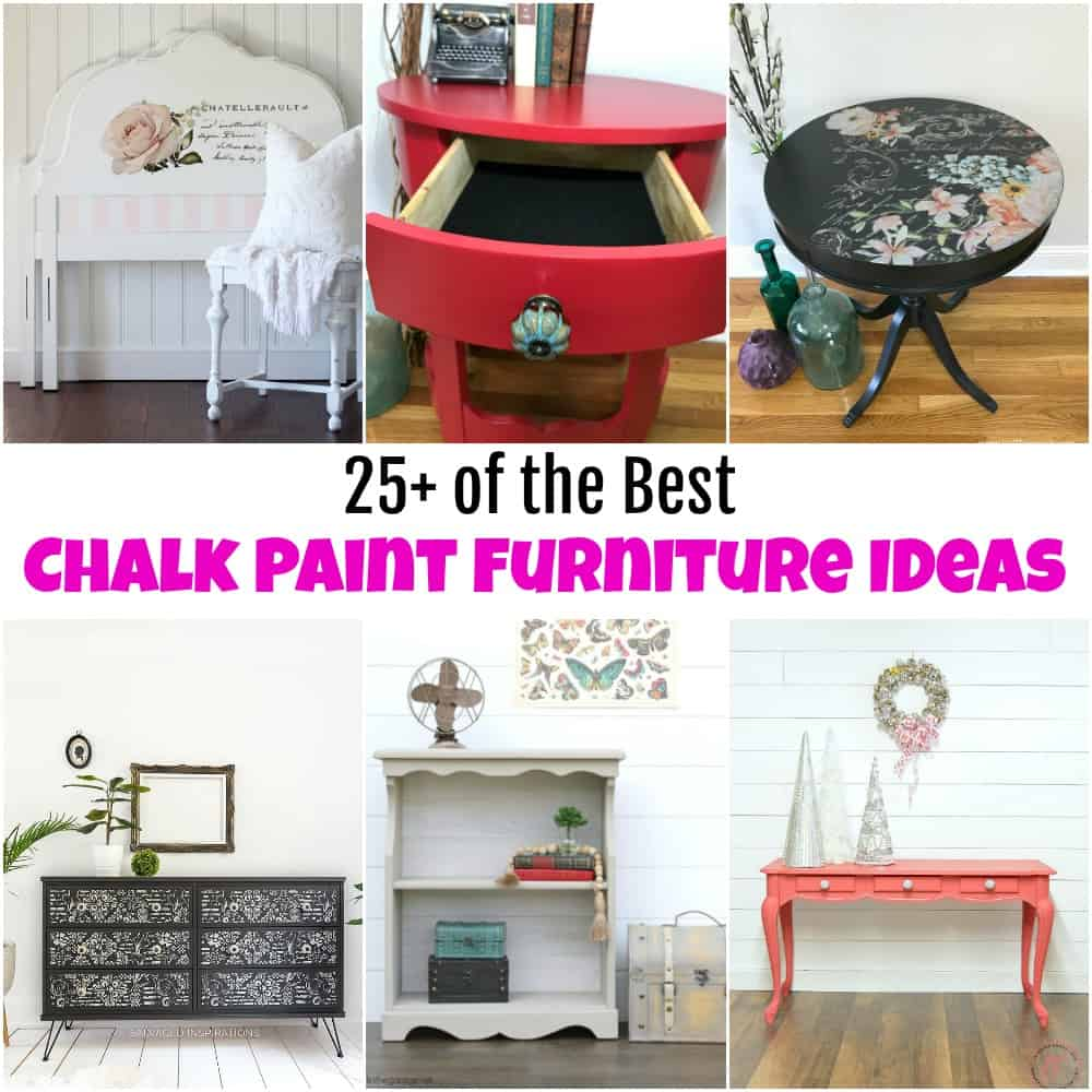 25 Of The Best Beautiful Chalk Paint Furniture Ideas