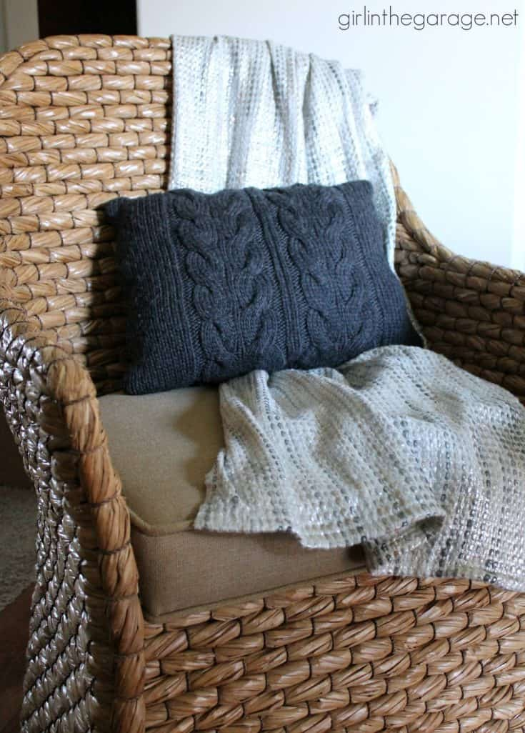 One Upcycled Sweater, Three DIY Projects – Trash to Treasure