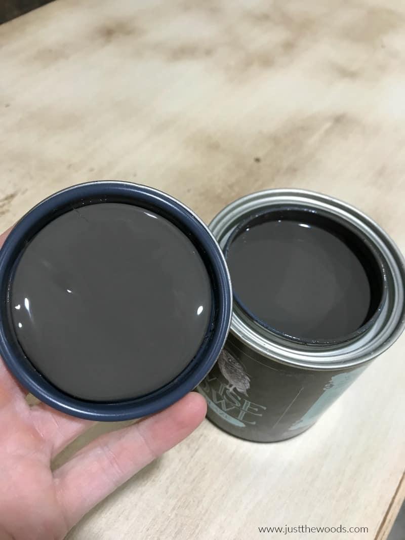 dark brown wood stain