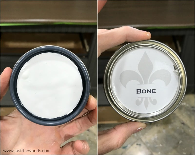 bone chalk paint, wise owl bone paint, neutral chalk paint
