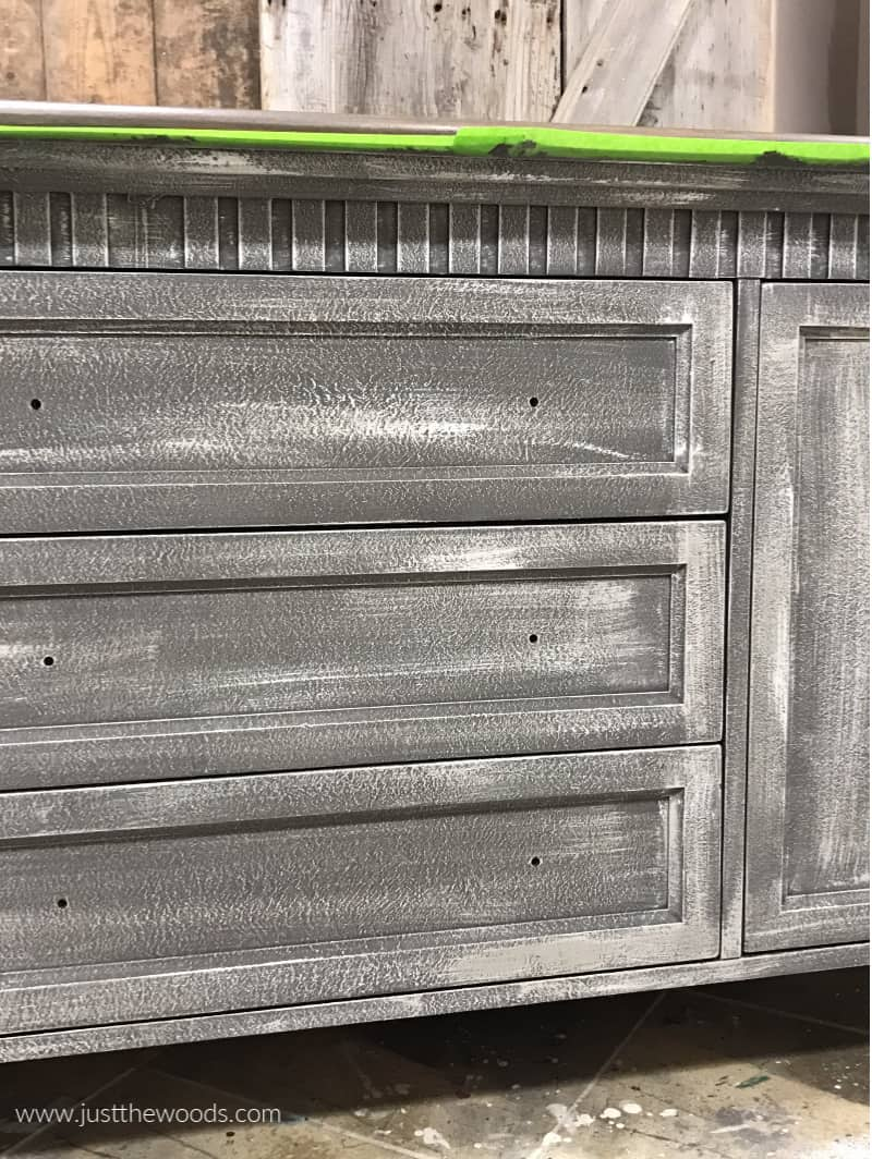 light paint over dark paint, painting a dresser