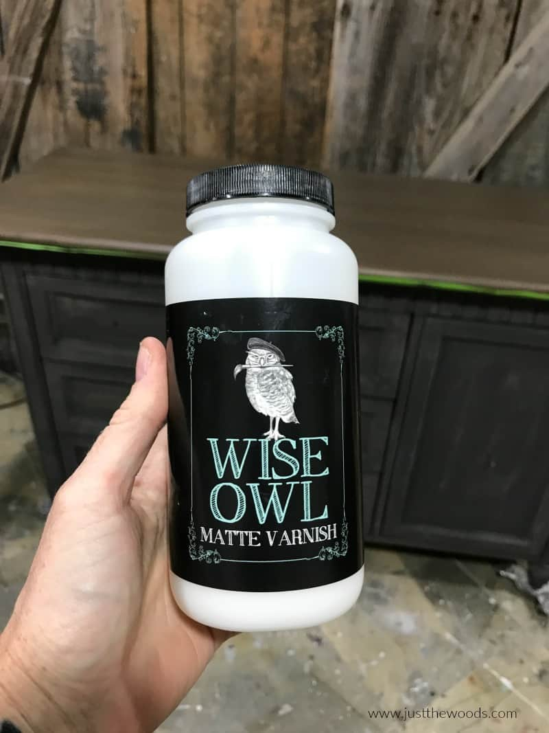 wise owl varnish, how to seal painted furniture, protective top coat for painted dresser