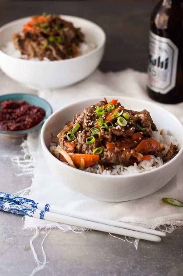 Korean Beef Bowl
