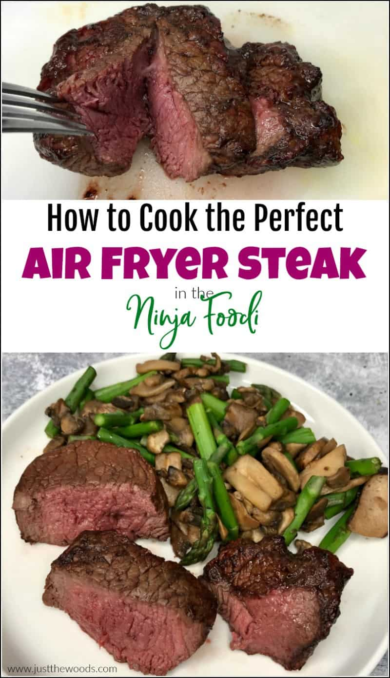 air fryer steak Ninja Foodi