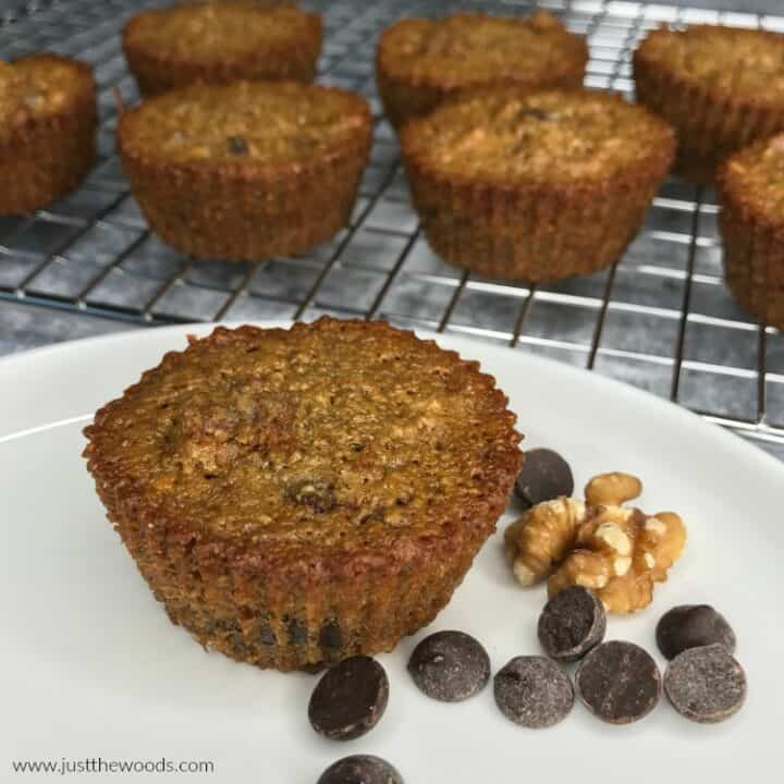 How to Make Healthy Chocolate Chip Muffins with Walnuts