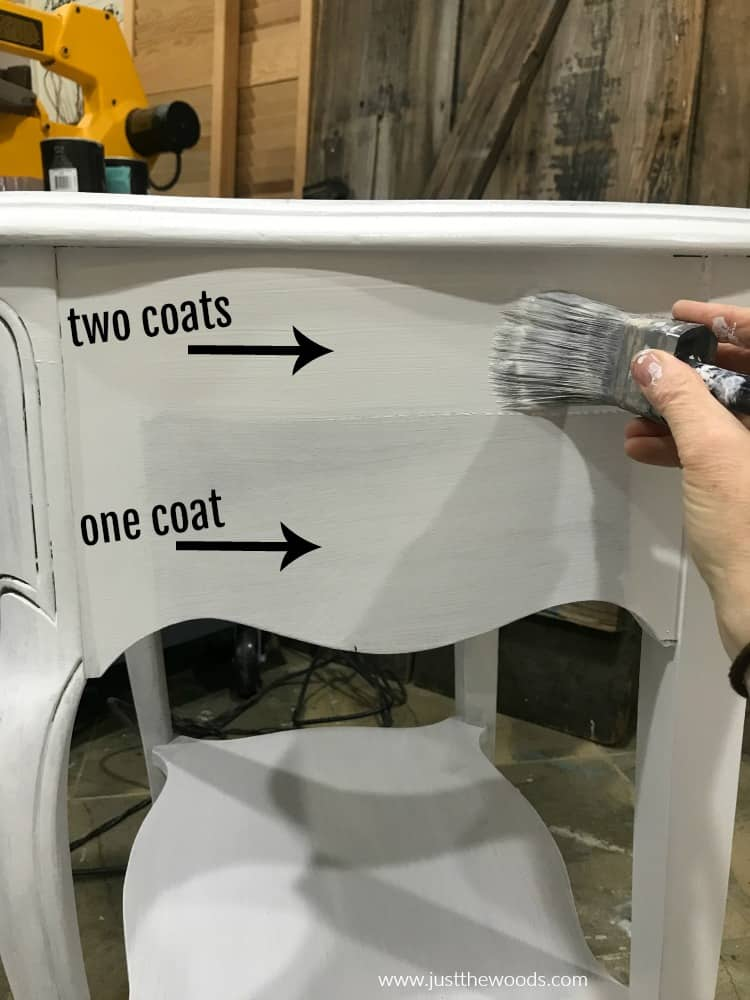 painting furniture white