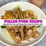 Ninja Foodi Pulled Pork Recipe for Amazing Pork Tacos