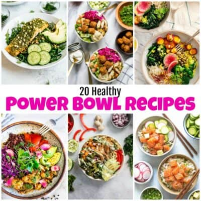 20 Healthy Power Bowl Recipes That You Will Love