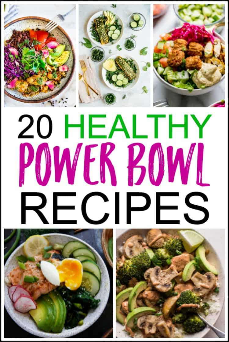 healthy power bowl recipes, easy power bowl recipes