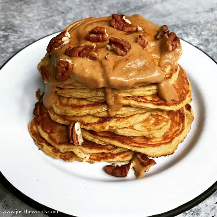 protein pancakes with nuts
