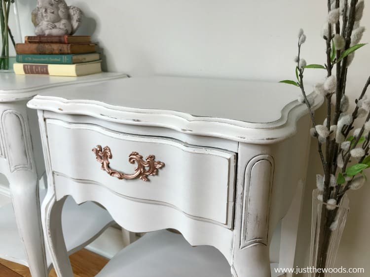 white distressed furniture, how to distress furniture