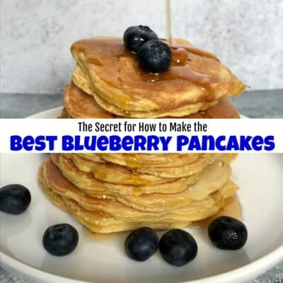 The Secret for How to Make the Best Blueberry Pancakes