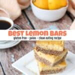 How to Make the Best Lemon Bars for Clean Eating
