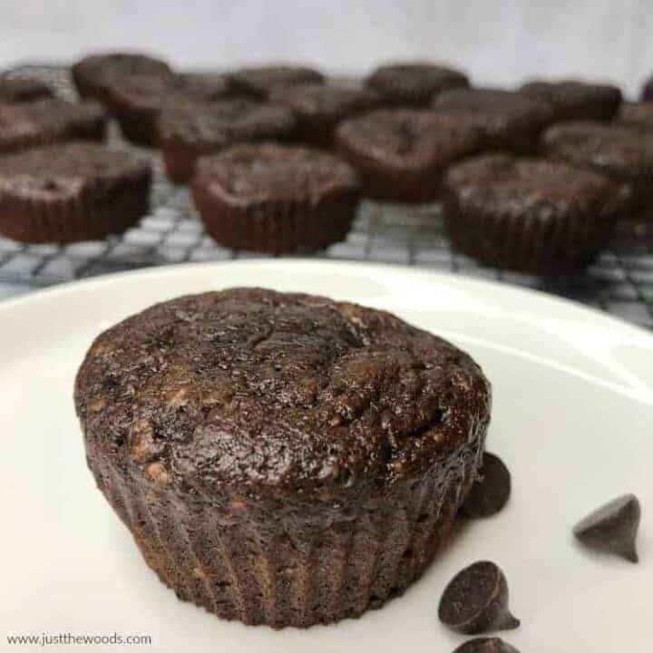 How to Make Healthy Chocolate Zucchini Muffins