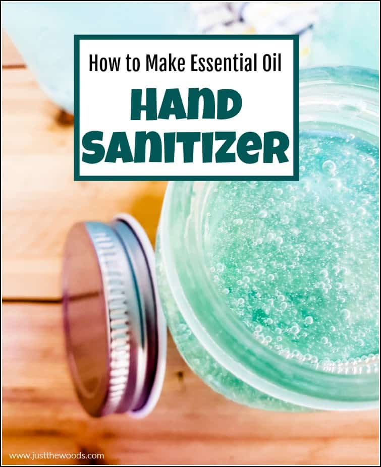 hand sanitizer tutorial easy