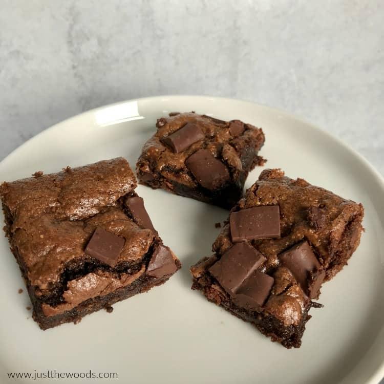 clean eating brownies, how to make homemade brownies