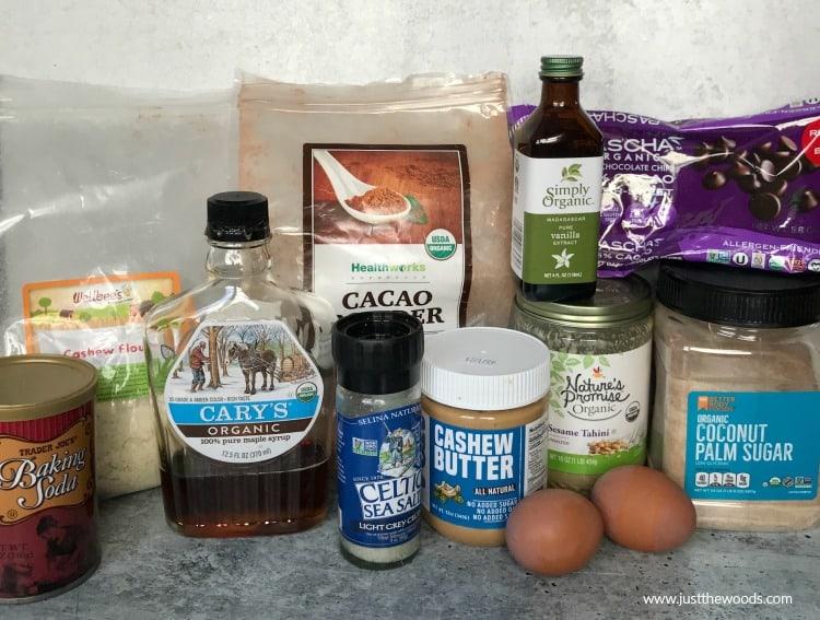 homemade brownie ingredients, how to make tahini brownies