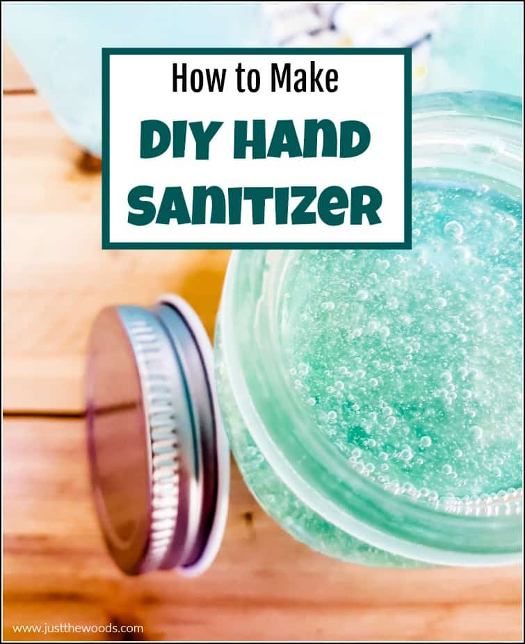homemade essential oil hand sanitizer