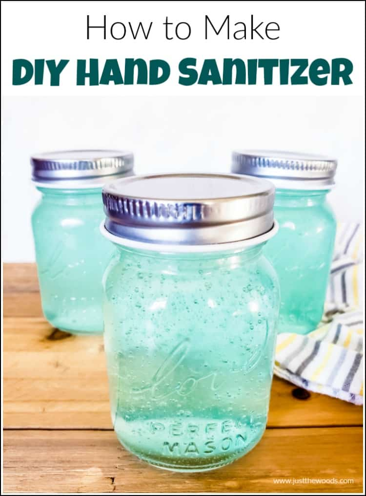 See how to make DIY hand sanitizer with 3 simple hand sanitizer ingredients. Fight germs with essential oil homemade hand sanitizer.
