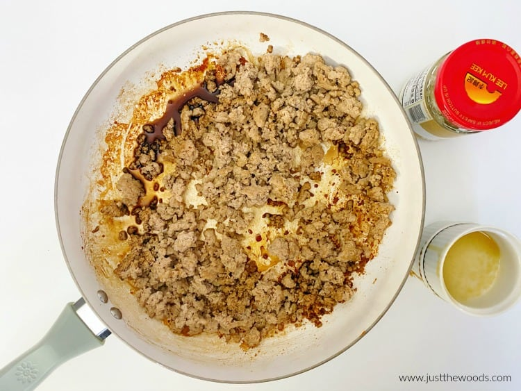 ground turkey egg roll in a bowl recipe, low carb egg roll in a bowl