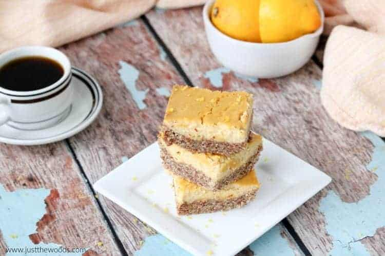 best lemon bars recipe, lemon squares healthy