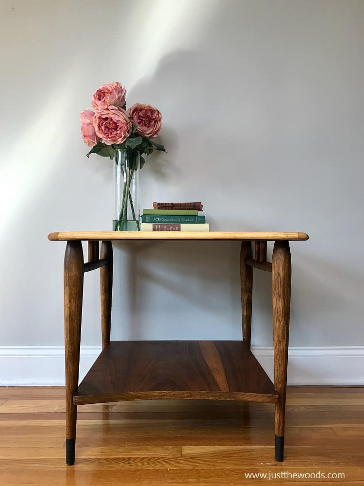 refinishing mid century lane acclaim table