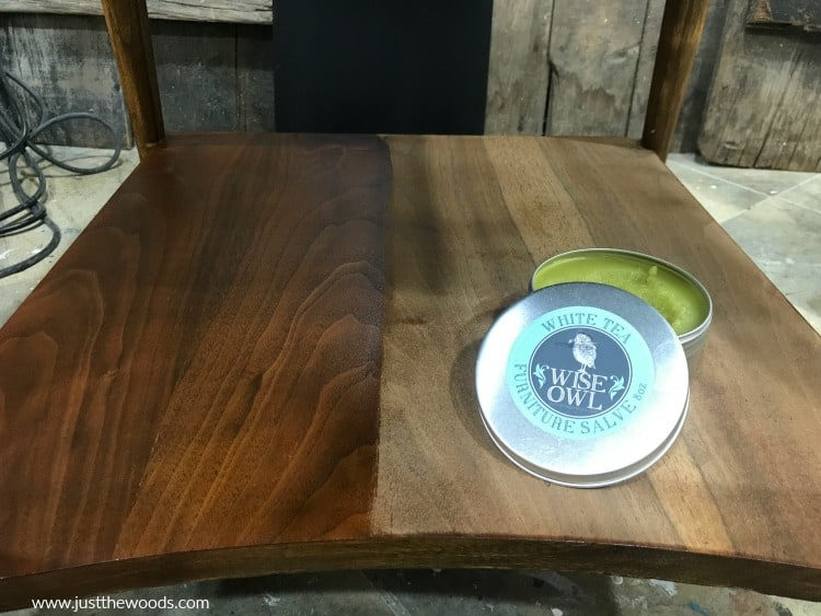 how to refinish furniture, wise owl salve