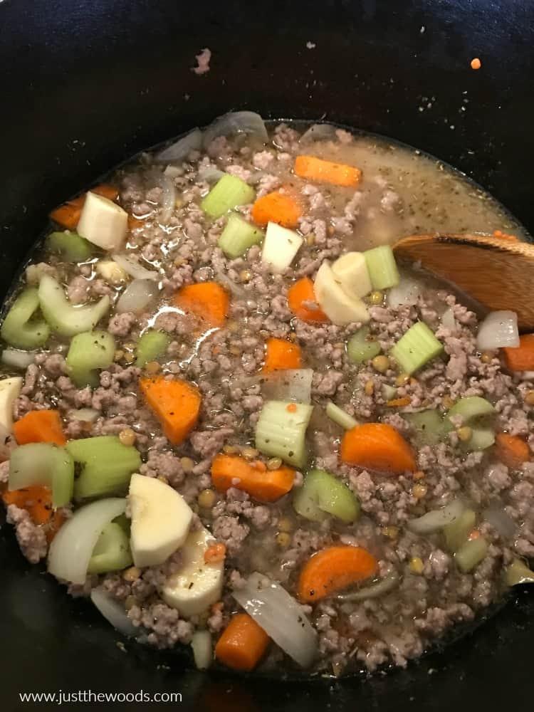 paleo lentil soup, gluten free lentil soup