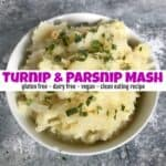 How to Make Super Healthy Turnip and Parsnip Mash