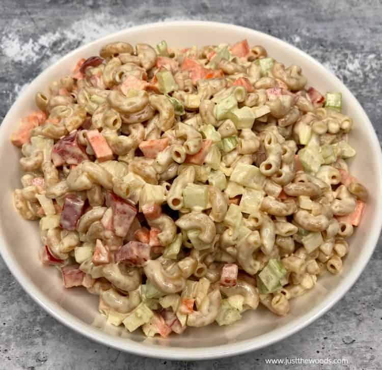 best macaroni salad recipe, easy macaroni salad recipe