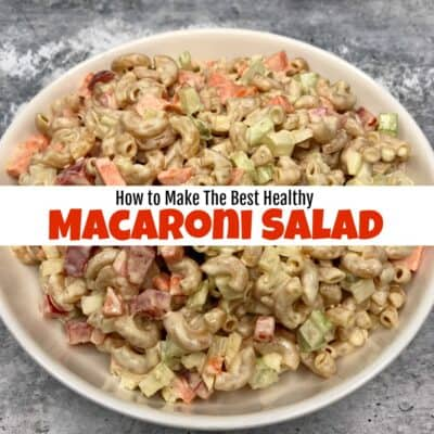 The Best Healthy Gluten Free Macaroni Salad Recipe