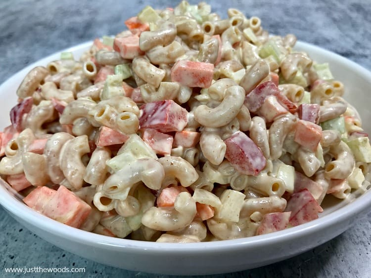 easy healthy macaroni salad recipe