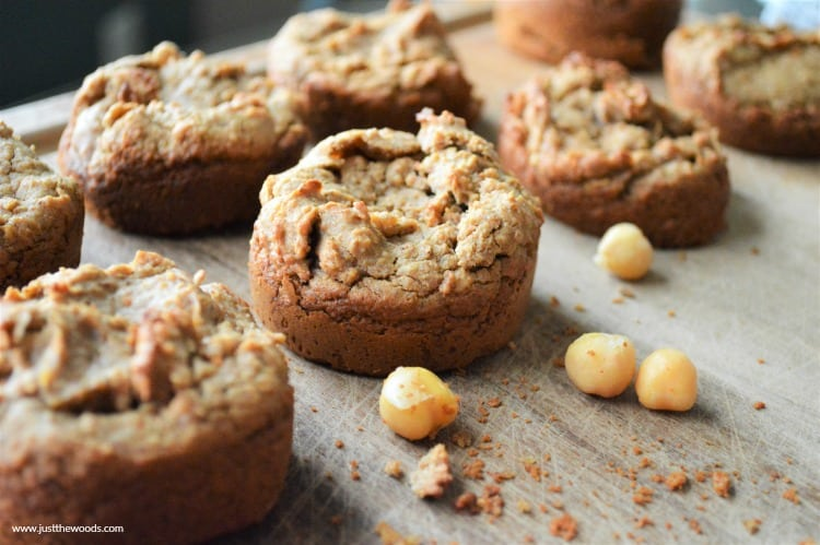 homemade chickpea muffins, gluten free muffins