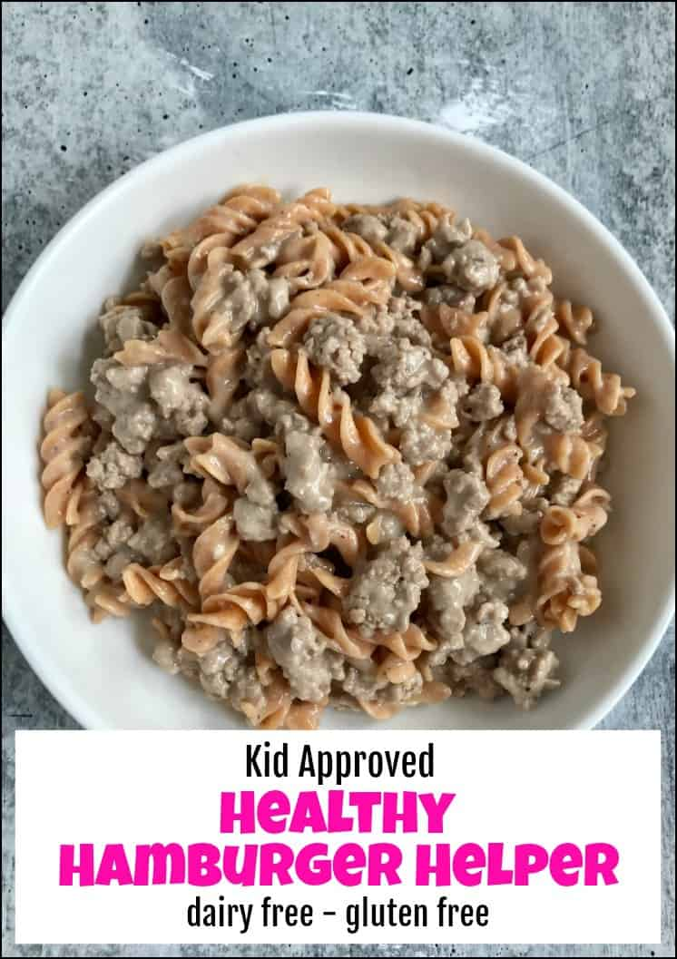 kid friendly, macro friendly, hamburger helper