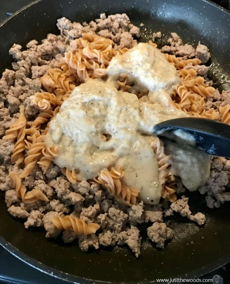 how to make healthy alternative hamburger helper