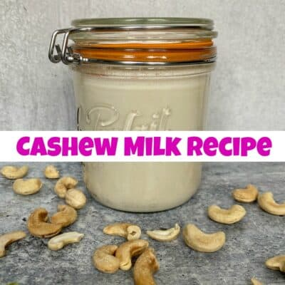 Simple and Creamy Cashew Milk Recipe
