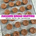 Delicious Gluten Free Zucchini Bread Muffins