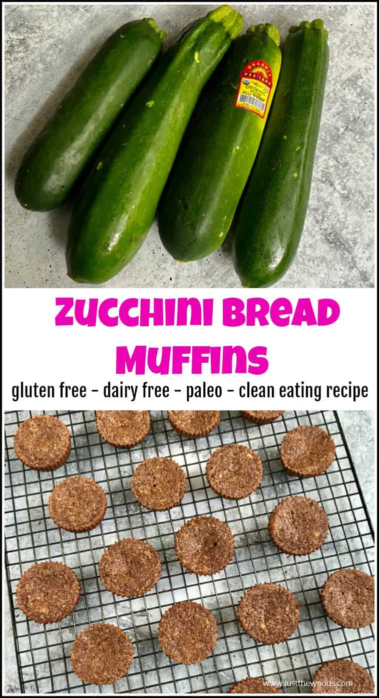 healthy zucchini bread muffin recipe
