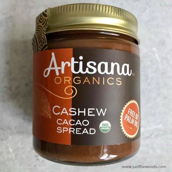 cashew cacao spread