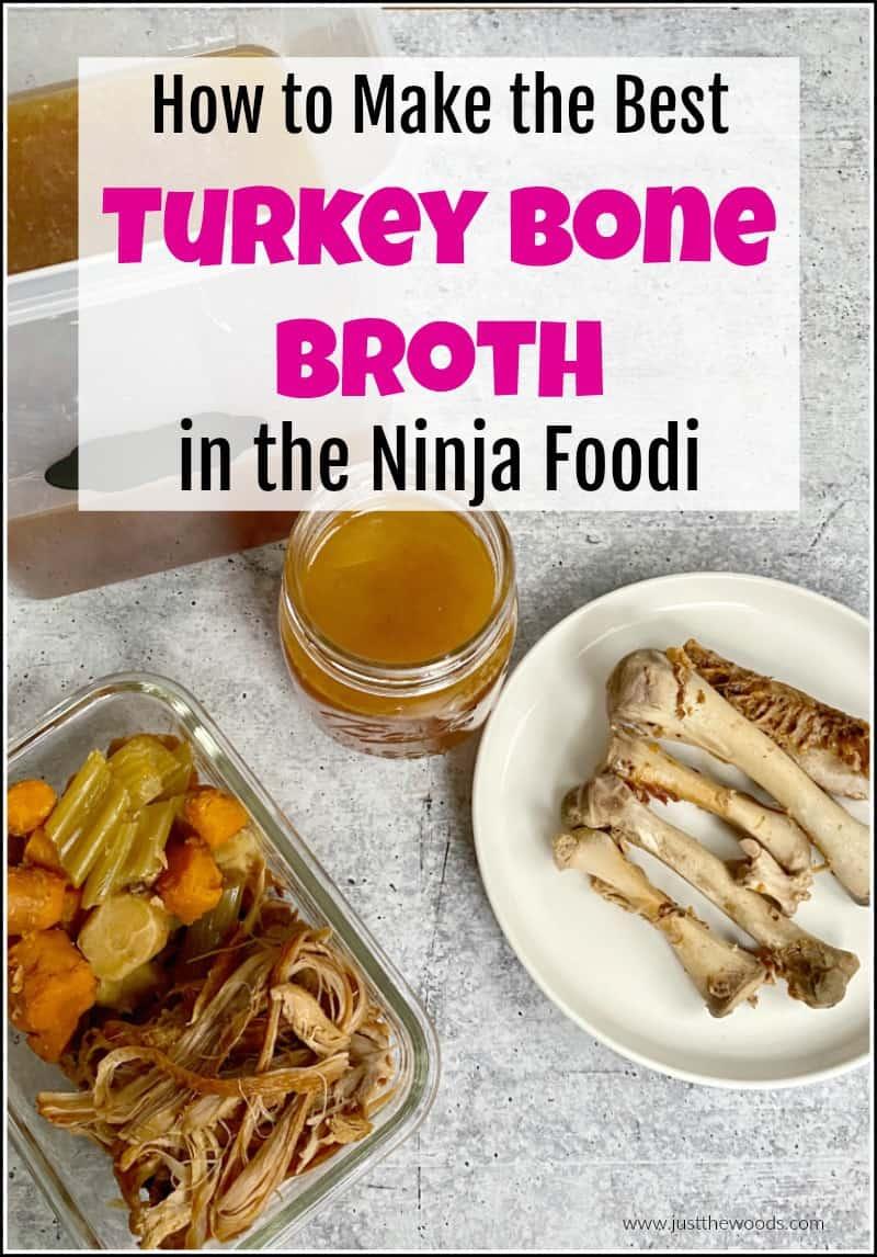 how to make turkey carcass bone broth