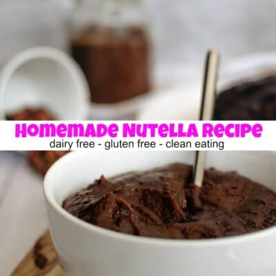 How To Make Homemade Nutella That's Dairy Free And Gluten Free