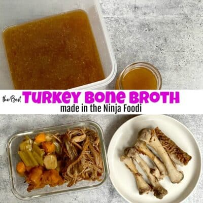How to Make the Best Turkey Bone Broth in the Ninja Foodi