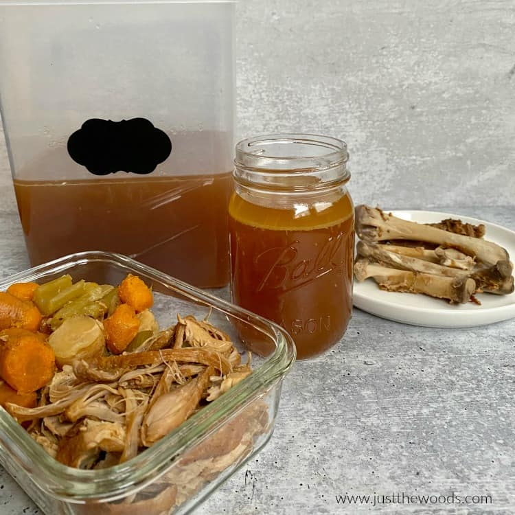 turkey stock recipe, how to make turkey bone broth, ninja foodi recipe