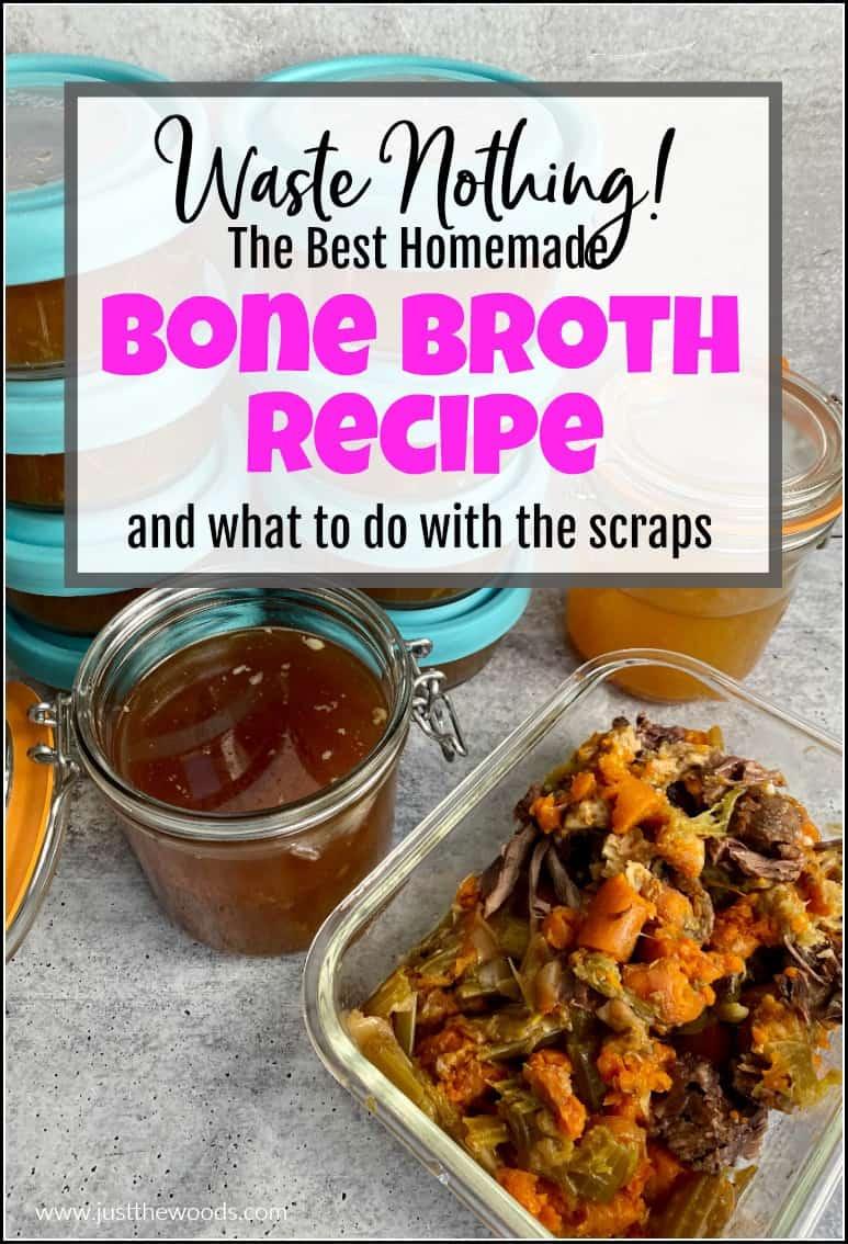 best bone broth recipe healthy